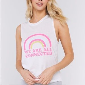 Spiritual Gangster Tops - Spiritual Gangster NWT Connected Muscle Tank M